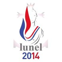 Logo FN / RBM - Avec Julia Plane 2014 - Lunel fait Front