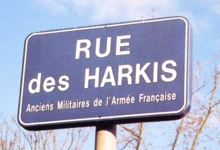 Harkis - rue des  panneau 150006